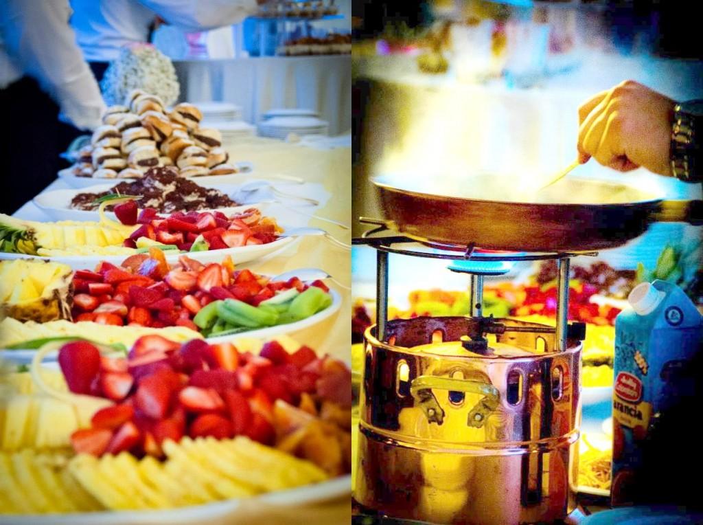 Show cooking, sweet table e tutto ciò che possa rendere speciale il tuo matrimonio da sogno