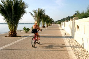 The Cupra Marittima's truck cycling