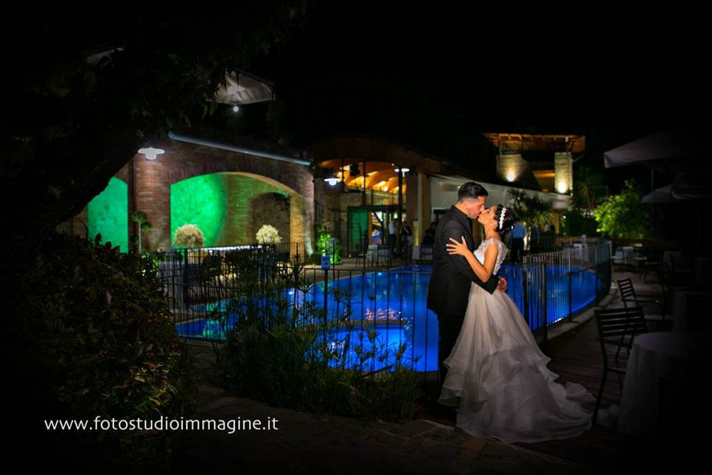 wedding in Italy with light designer