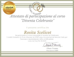 Rosita Scelicot Celebrante